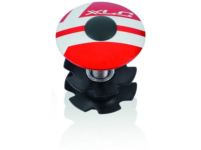 "XLC AP-S01 Ahead Plug 1 1/8"" red"